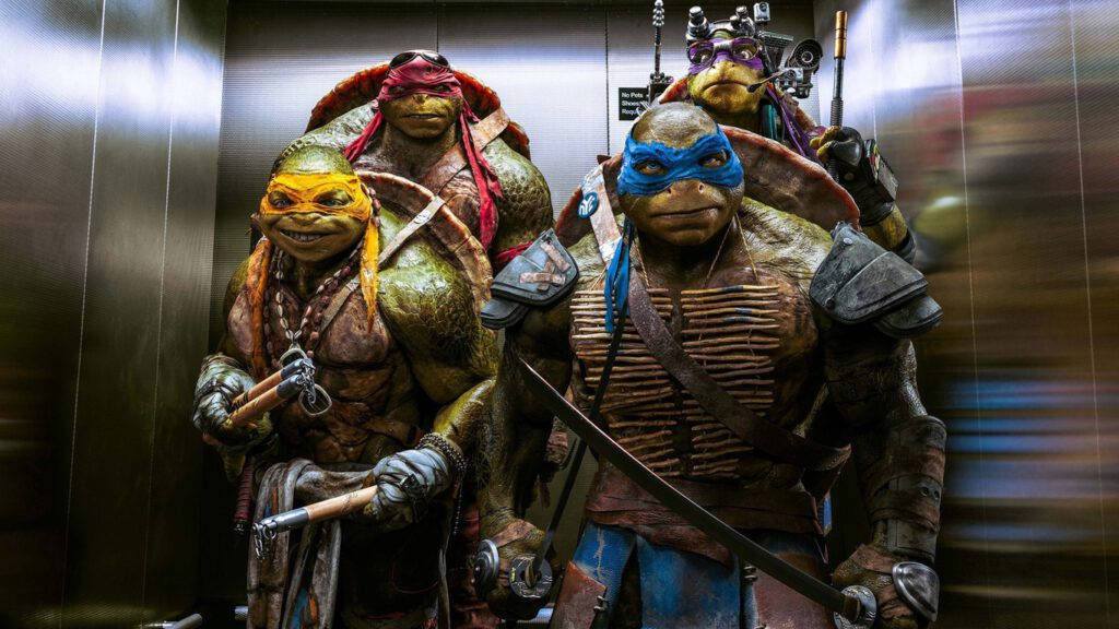 Ninja Kablumbağalar'ın Yeni Animasyon Filmi İçin Hazırlıklara Başlandı.